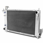 94-95 Ford Mustang V8 V6 At Tri Core High Capacity Race 3-Row Cooling Radiator