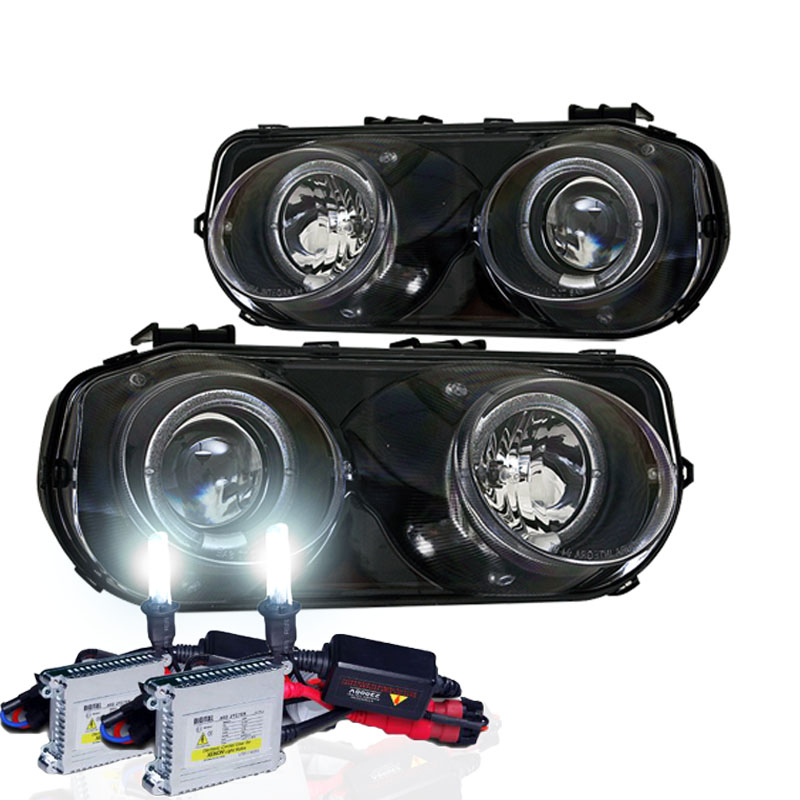 1994-1997 Acura Integra Dual Halo Projector Headlights