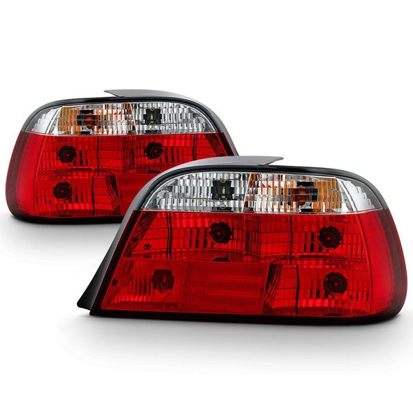 95-01 BMW E38 740I 750I  Crystal Altezza Tail Lights - Red Clear ALT-YD-BE3895-RC