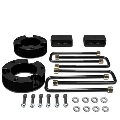 """95-04 Toyota Tacoma 2WD 4WD Black 3""""Front+2""""Rear Spacers+Blocks Leveling Lift Kit"""