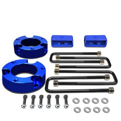 "95-04 Toyota Tacoma 2WD 4WD Blue 3""Front+2""Rear Spacers+Blocks Leveling Lift Kit"