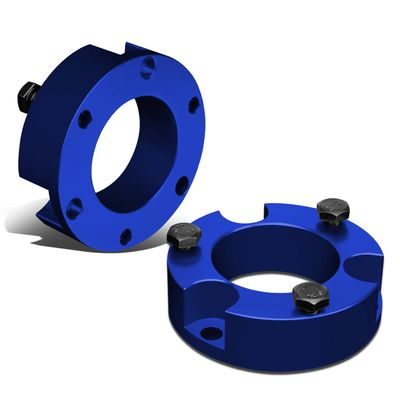 """95-04 Toyota Tacoma 4Runner 2WD 4WD Blue 3""""Front Spacers Leveling Lift Kit"""