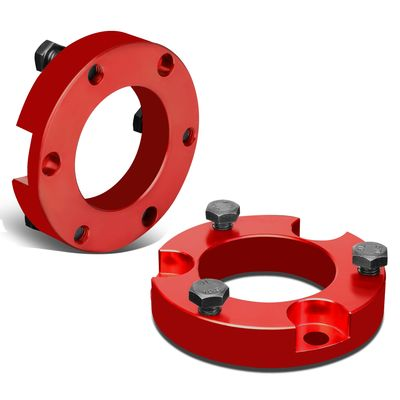 """95-04 Toyota Tacoma 4Runner 2WD 4WD Red 2.5""""Front Spacers Leveling Lift Kit"""