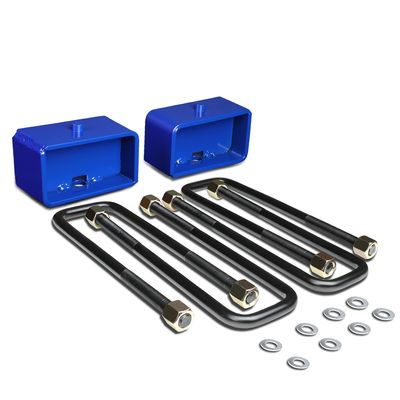 "95-18 Toyota Tacoma 2WD 4WD Blue 3"" Rear Blocks Suspension Leveling Lift Kit"