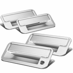 95-99 Chevy Tahoe 4DR W/O PSKH Chrome Plated Door Handle Cover Trim