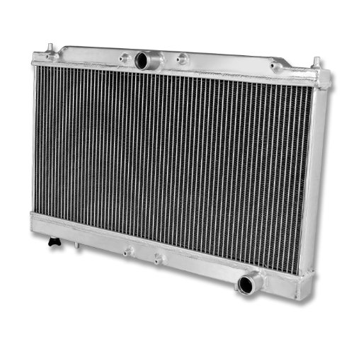 95-99 Mit Eclipse 95-98 Talon Dual Core High Capacity Race 2Row Cooling Radiator