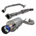 1995-1999 Mitsubishi Eclipse RS GS 2.0L Non Turbo Burnt Tip Exhaust Catback
