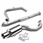 95-99 Mitsubishi Eclipse GS / RS Performance Catback Exhaust - Roll Tip