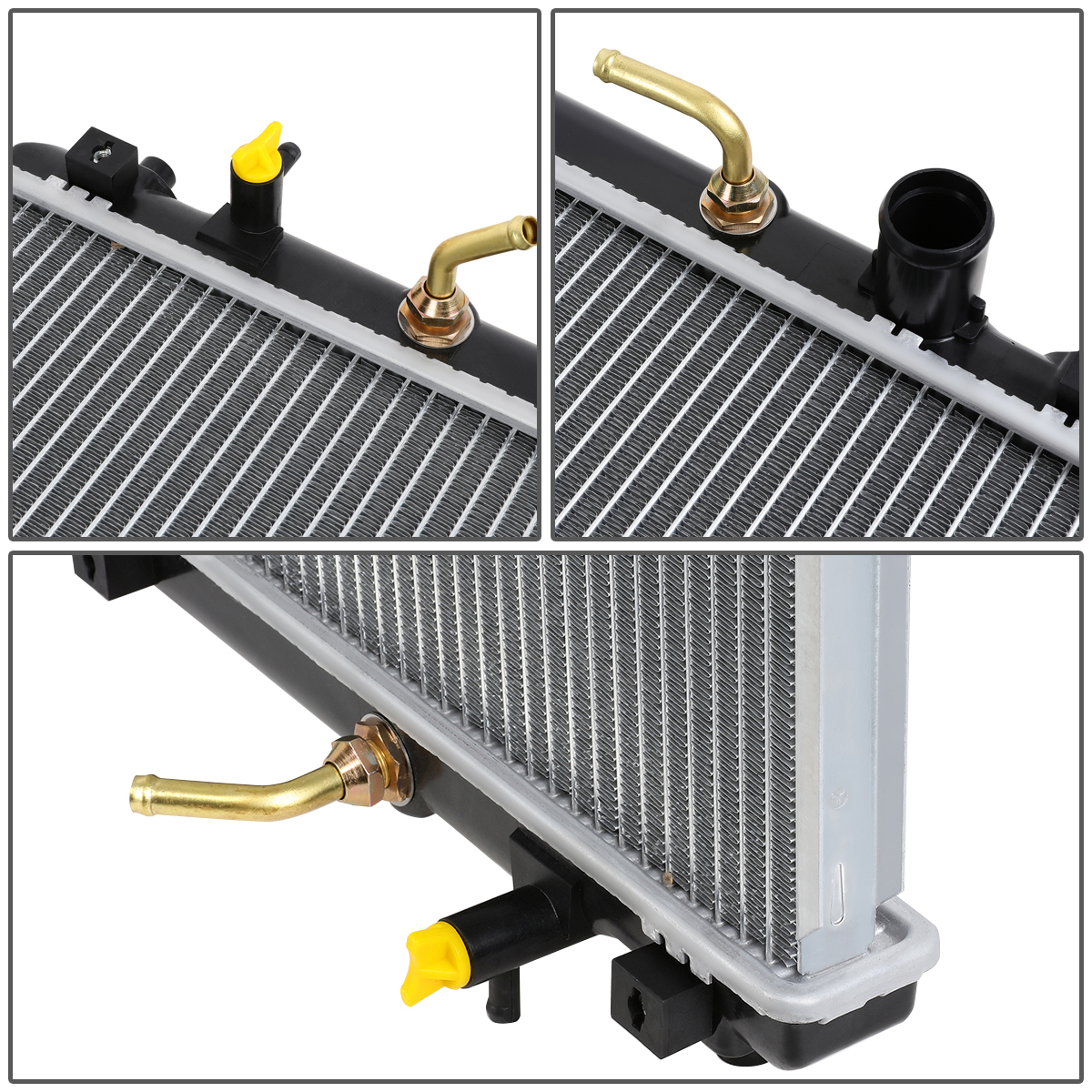 Radiator Assembly Aluminum Core Direct Fit for 94-96 Toyota Avalon Camry Lexus