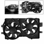 96-00 Chrysler Town&Country/Grand Caravan Radiator Cooling Fan w/Motor