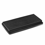 96-01 Jeep Cherokee XJ Reusable & Washable Replacement High Flow Drop-in Air Filter (Black)