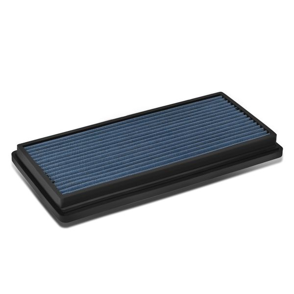 96-01 Jeep Cherokee XJ Reusable & Washable Replacement High Flow Drop-in Air Filter (Blue)