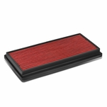 96-01 Jeep Cherokee XJ Reusable & Washable Replacement High Flow Drop-in Air Filter (Red)
