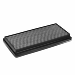 96-01 Jeep Cherokee XJ Reusable & Washable Replacement High Flow Drop-in Air Filter (Silver)