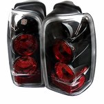 96-02 Toyota 4Runner Euro Altezza Tail Lights - Black ALT-YD-T4R96-BK By Spyder