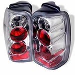 96-02 Toyota 4Runner Euro Altezza Tail Lights - Chrome ALT-YD-T4R96-C By Spyder
