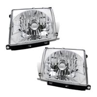 97-00 Toyota Tacoma [Non 97 4WD] Crystal Replace Headights - Chrome