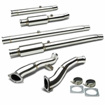 97-02 Audi S4/A6 Jetta 2.7L Bi-Turbo Stainless Steel Downpipe Down Pipe Exhaust
