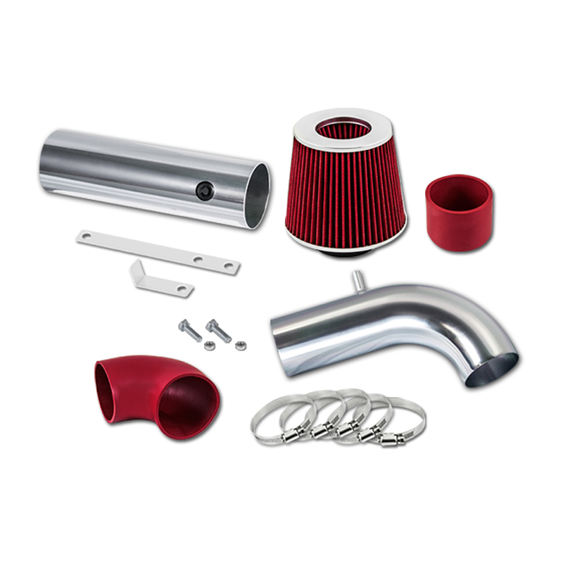 RED AIR INTAKE KIT FIT 1997-2003 CHEVY S10 GMC SONOMA ISUZU HOMBRE 2.2L