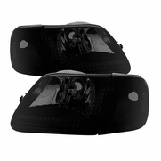 97-03 Ford F-150 / Expedition 4pcs OE-Style Headlights - Black Smoked|Pair
