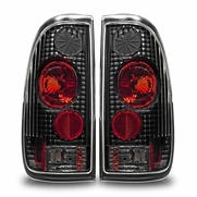 97-03 Ford F-150 Styleside Altezza Tail Lights - Black