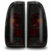 97-03 Ford F-150 Styleside Altezza Tail Lights - Black / Smoked