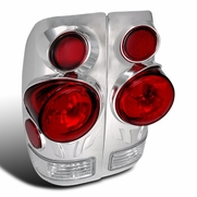 97-03 Ford F150 3D Styleside Euro Altezza Tail Lights - Chrome