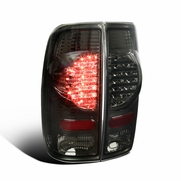 97-03 Ford F150 / 99-07 F250 SuperDuty Styleside LED Tail Lights - Smoked
