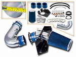 97-03 Ford F150 F250 Expedition Navigator 4.6L 5.4L Heat Shield Cold Air Intake - Blue Filter