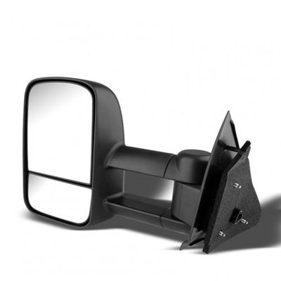 97-03 Ford F150 / F250 (Heavy Duty Size) Extendable Manual Adjustable Side Towing Mirrors - Driver Side