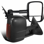 1997-2003 Ford F150 F250 Light Duty Power + LED Towing Tow Hauling Side Mirrors
