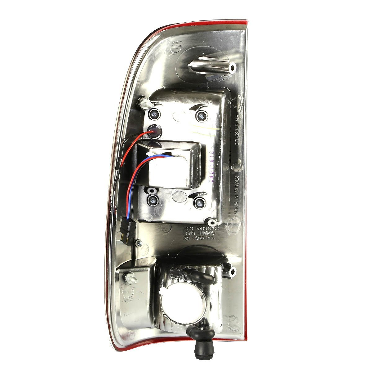 97 Super Duty Pair Of Clear Lens Red Led Rear Brake Signal Tail Light