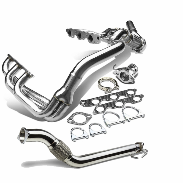 97-03 Ponitac Grand Prix / Gtp / Regal / Impala 3.8L V6Stainless SS Racing Manifold Header Exhaust + Downpipe