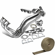 97-03 Ponitac Grand Prix / Gtp / Regal / Impala 3.8L V6Stainless SS Racing Manifold Header Exhaust + Heat Wrap