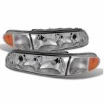 97-05 Buick Century / Regal Replacement Crystal Headlights - Chrome