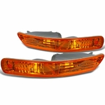 Spec-D 98-01 Acura Integra JDM Amber Bumper Lights Pair