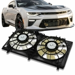 98-02 Chevy Camaro Firebird 3.8L w/AC OE Style Radiator Cooling Fan Kit GM3115154