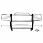 98-02 Honda Passport / 98-00 Isuzu Amigo / 98-04 Redeo Sport Front Bumper Protector Brush Grille Guard (Chrome)