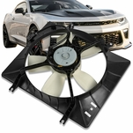 98-04 Isuzu Rodeo Amigo MT OE Style Radiator Cooling Fan Assembly IZ3115102