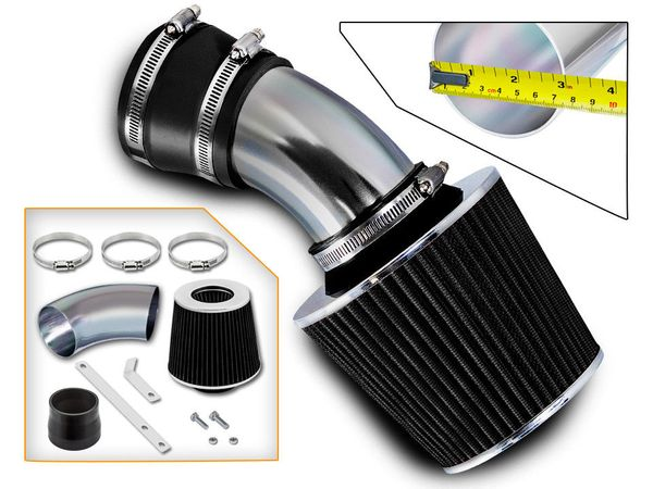 98-05 BMW E46 3-Series Short Ram Air Intake Kit - Black