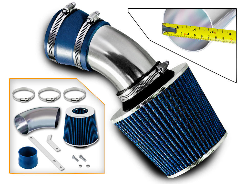 98 05 Bmw E46 3 Series Short Ram Air Intake Kit Blue