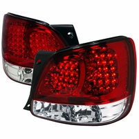 98-05 Lexus GS300 / GS 400 Euro Style LED Tail Lights - Red / Clear