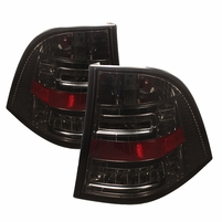 98-05 Mercedes Benz ML-Class W163 Euro Style LED Tail Lights - Smoked
