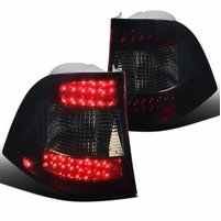 98-05 Mercedes Benz W163 M-Class Red Smoke Lens LED Tail Lights