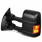 99-0 Ford F250 F350 F450 F550 Super Duty Replacement Side Towing Mirror - Driver Left