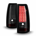 99-02 Chevy Silverado 99-03 GMC Sierra LED Smoke Tail Lights ALT-ON-CS99-LED-SM By Spyder