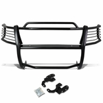 99-02 Ford Expedition / 99-03 F150 / F250 2WD Front Bumper Protector Brush Grille Guard (Black)
