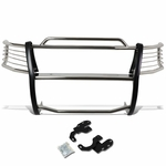99-02 Ford Expedition / 99-03 F150 / F250 2WD Front Bumper Protector Brush Grille Guard (Chrome)