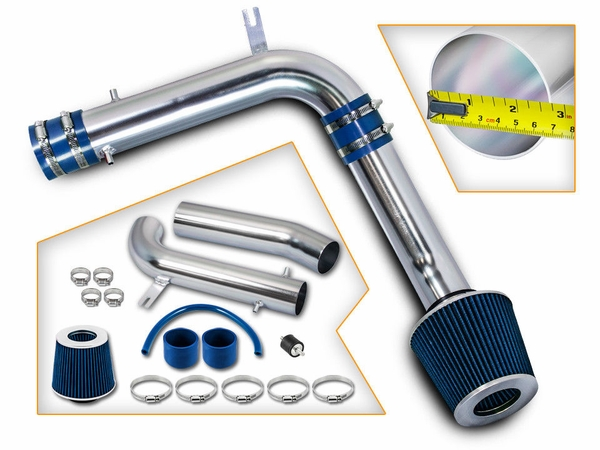 ProTuningLab 99-03 Acura TL / CL 3.2L Performance Cold Air Intake - Blue