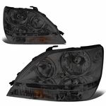 99-03 Lexus Rx300 Factory Style Replacement Headlights - Smoked / Amber